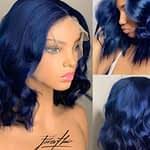 parrucca blu